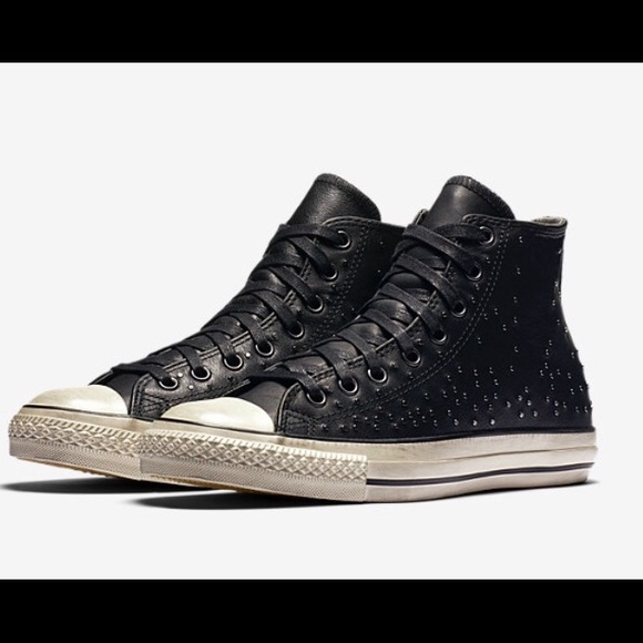 8aeefbab5c5f CONVERSE ALL STAR MINI STUD HIGH TOP SNEAKERS