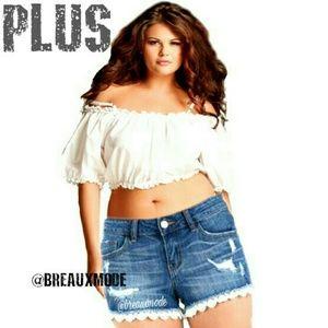 Breaux-Mode Pants - HP 🆕 [PLUS: 14-20] Lace & Denim Shorts