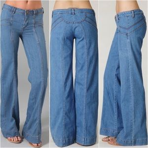 Free People Pants - ✨RESERVED✨Free People Super 70's Wideleg Jean