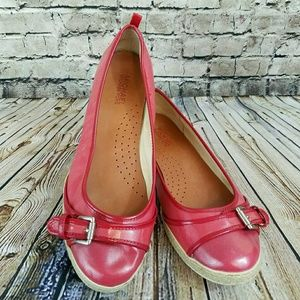 Michael by Michael Kors Red Espadrille Flat