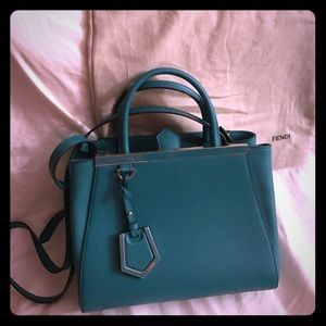 Fendi Handbags - Fendi Petite 2 Jours Hobo