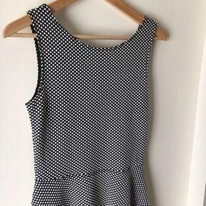 Frenchi Dresses & Skirts - Nordstrom Frenchi Black Polka Dot Skater Dress