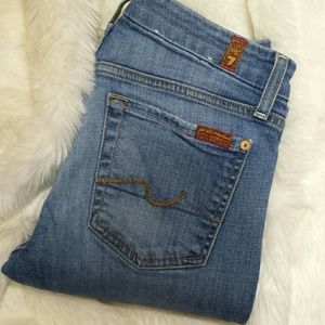7 For All Mankind Denim - 7 for all mankind Kimmie Straight Leg jeans sz 27