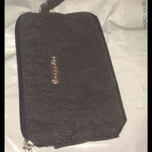Baggallini Handbags - Baggallini wristlet Chocolate Cheetah Print