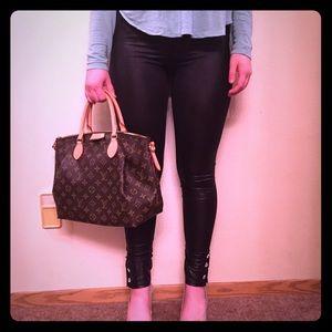 Pants - NEW FAUX LEATHER LEGGINGS