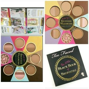 Too Faced Other - TOO FACED LTD Little Black Book of Bronzers NIB