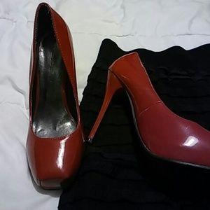 Pierre Dumas Shoes - 🔹Pierre Dumas   True Red Pumps