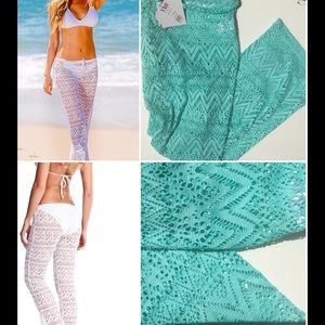YMI Other - *MORE SIZES ADDED*BEACH PANTS IN TURQUOISE