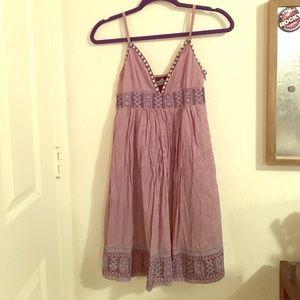 Angie Dresses & Skirts - Lavender dress | floral & geometric details