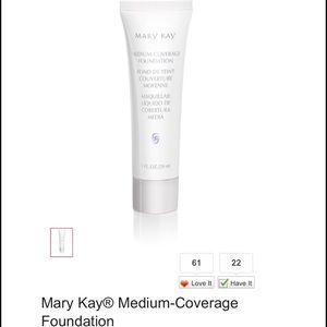 Mary Kay Other - 💄 Mary Kay Medium Coverage Foundation