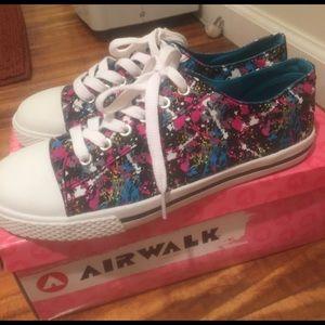 Airwalk Shoes - NIB  Airwalk splatter sneakers. 🌈