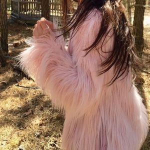 Forever 21 NWT Fur Coat