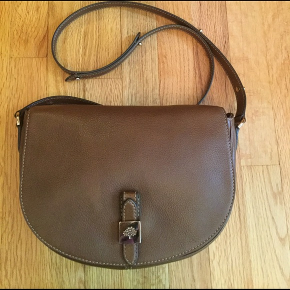 a4ee51ec68 Mulberry Tessie Satchel Crossbody Brown LeatherBag.  M_58b190d3fbf6f98e58002247