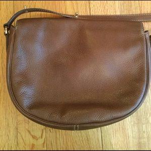 834b3858c5 Mulberry Bags | Tessie Satchel Crossbody Brown Leatherbag | Poshmark