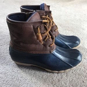 Shoes - Submit ANY Offer ! Sperry Duck Boots(Navy Blue)