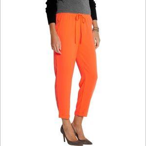J. Crew Pants - 😍1h SALE😍J. Crew Neon Orange Drapey Pants