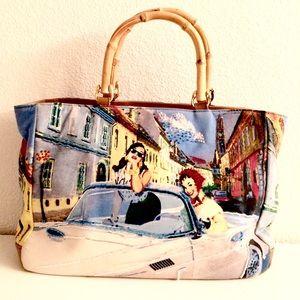Preston & York Handbags - Preston & York Bejeweled Handbag