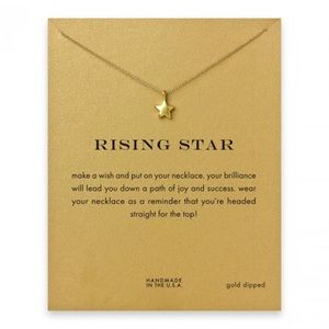 Urban Outfitters Jewelry - New💓 Rising Star Dogeared Style Gold Necklace