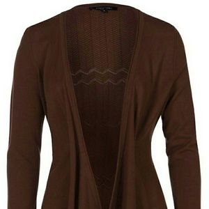 Etcetera Sweaters - Etcetera brown cardigan