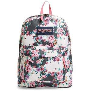 Jansport Classic SuperBreak Backpack - Floral NWOT