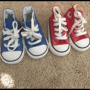 Converse Other - Converse All Star sneakers!💙❤️💙❤️💙❤️💙❤️💙
