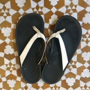 OluKai Shoes - OluKai white sandals