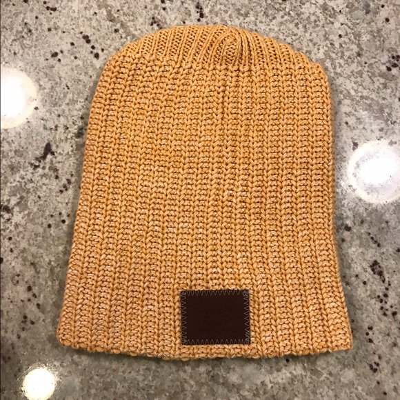 2b989c2016bdf love your melon Accessories - Mustard yellow love your melon beanie