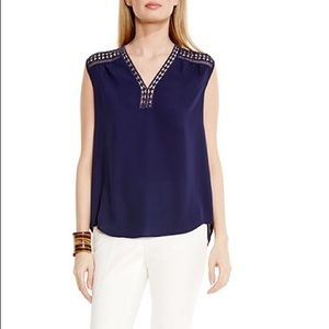 Vince Camuto Tops - 🆕Vince Camuto Marrakech Top, Evening Navy