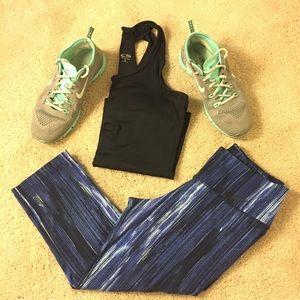 Nike Pants - Blue Nike dry-fit crops