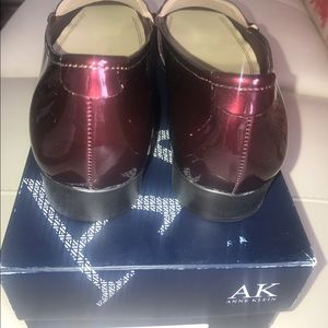 e8e75a034e7 Anne Klein Shoes - ANNE KLEIN WOMANS WINE PATENT LEATHER LOAFER SHOES