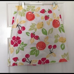 Talbots Dresses & Skirts - Talbots Tropical Fruit Skirt
