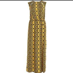 River Island Dresses & Skirts - River Island Abstract Print Sleeveless Maxi Dress