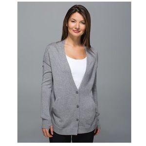 "lululemon athletica Sweaters - Lululemon Long Sleeve Vneck ""Cardi"" Sweater"