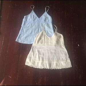 Tops - Two summer tops. Size small/medium. (10)