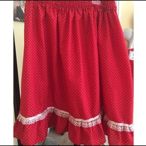 VinTage Square Dancing Skirt Size XL