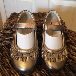 See Kai Run Other - See Kai Run Shoes-pewter leather Mary Janes