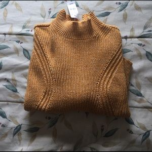 Kendall & Kylie Sweaters - Kendall and Kylie Mock Neck Sweater