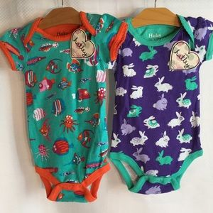 Hatley Other - Hatley onesies NWT in colorful prints girl 12-18