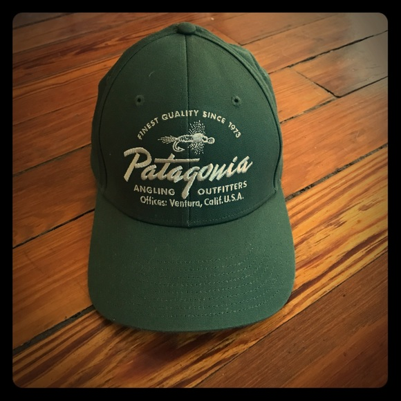 Patagonia fly fishing SnapBack hat. M 58b1b26f6a583005dc00842c 4e75239d314