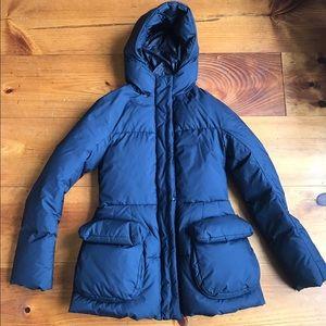 Uniqlo x Jil Sander down jacket, XS Navy blue