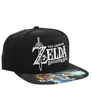 Hot Topic Other - Zelda breath of wild SnapBack baseball hat