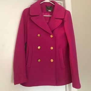 J.crew stadium pea coat