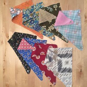 Other - Set of 8 handmade baby bandanas!