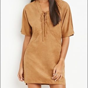 Forever 21 Dresses & Skirts - 🆕Forever21 Faux Suede Dress