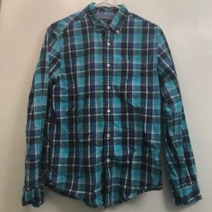 American Eagle Outfitters Other - American Eagle Athletic Fit Plaid Button Down