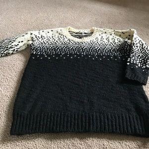 Madewell acrylic/wool sweater, size S.