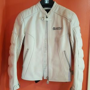 ICON Jackets & Blazers - Icon motorcycle leather jacket