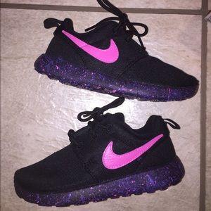 Customized Nike Roshes ( Toddler Size )