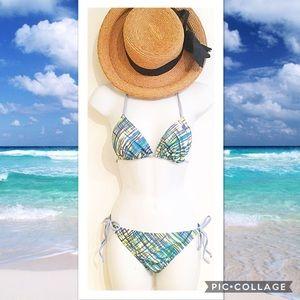 Reef Other - Reef Blue & Green Abstract Bikini