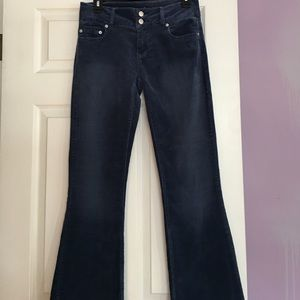 LONDON JEAN Pants - London Jean stretch brushed blue pants